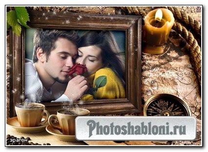 Мужская рамочка для фотошопа – Свидание