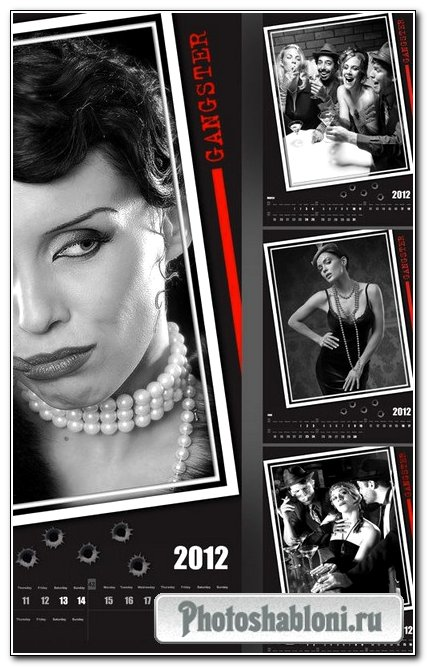 Calendar - Gangster 2012