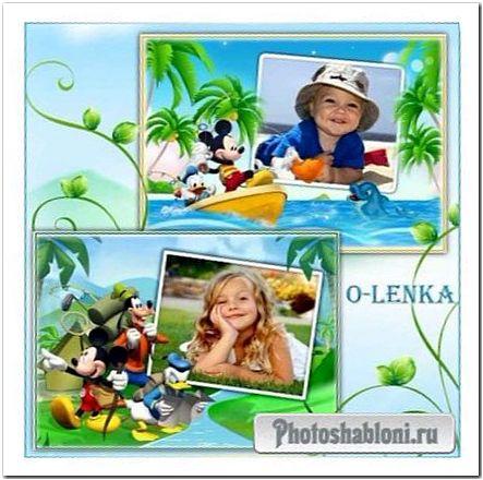 Детские фоторамки - Микки Маус и его друзья