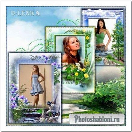 Рамки для фотошопа - Дух природы