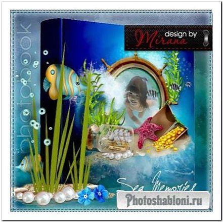 Очаровательный летний фотоальбом - Приключения на море