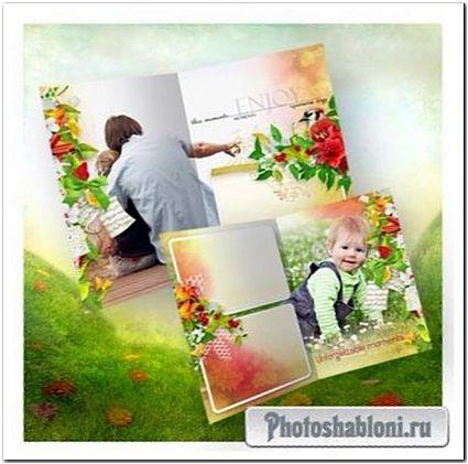 Летняя цветочная фотокнига - Целый букет ароматов и звуков
