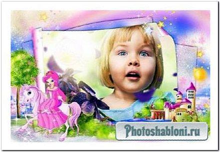 Детская рамка для фото - Сказочная страна