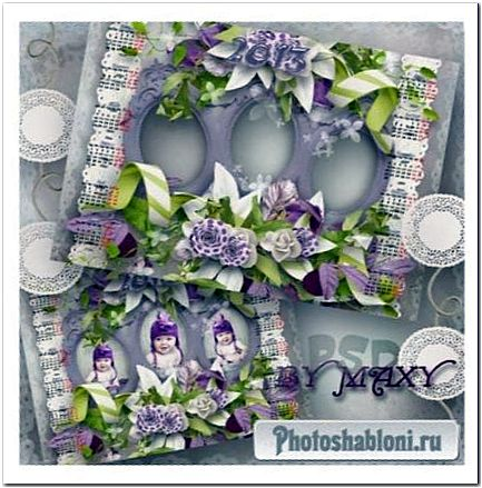 Календарь 2013 года - Сиренево-белое счастье