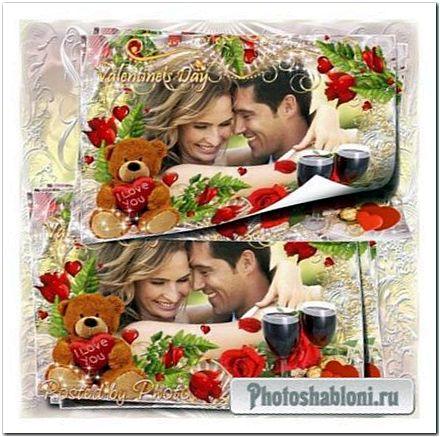 Романтическая рамка - Мелодия сердец