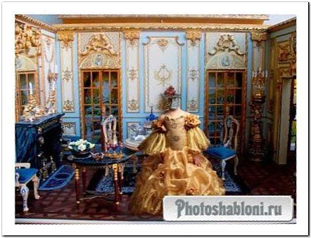 Шаблон для фотошопа Маленькая графиня
