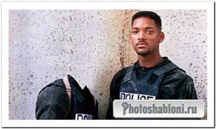Шаблон мужской - Служить в полиции с Уилл Смитом