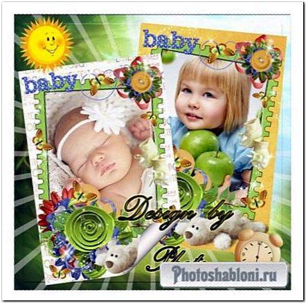 Детские рамки для фото - Хороши у нас игрушки