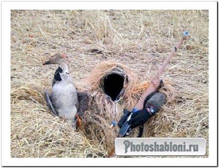 Мужской шаблон - Охотник в засаде