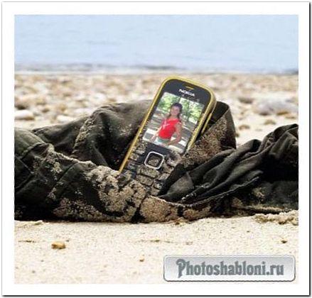 Рамка для фото - Мобильный телефон