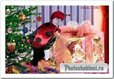 Детский костюм девочкам - Вот это подарочек!