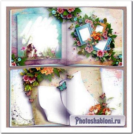 Красивая фотокнига на память - Счастливое лето