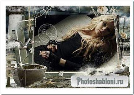Рамка для фотошоп - Перед штормом