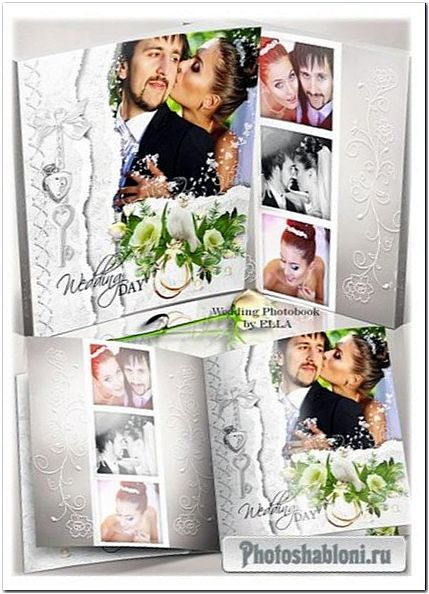 Свадебная фотокнига для новобрачных - Моменты счастья
