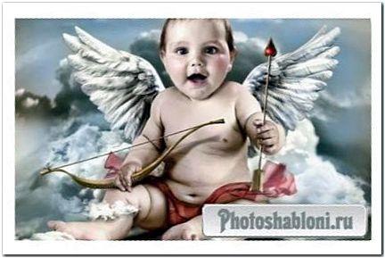 Шаблон для малыша - маленький ангел