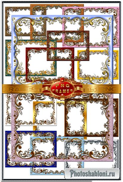 Декоративные рамки-вырезы