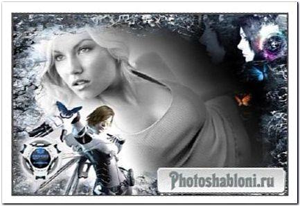 Фоторамка - Черно-белое настроение