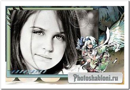 Детская рамочка для фотографий - Аниме