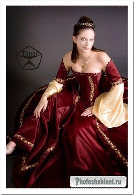 Женский шаблон для фотошопа - Ее величество Красота