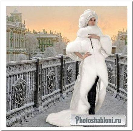 Женский шаблон - Город белых ночей