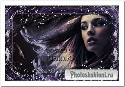 Рамка для фото - Звезда морей