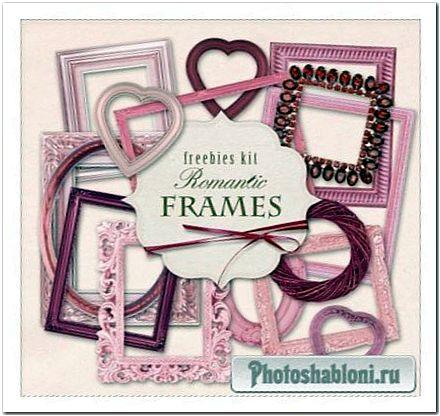 Рамки-вырезы для Photoshop - Романтичная коллекция