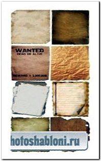 Большая коллекция текстур бумаги