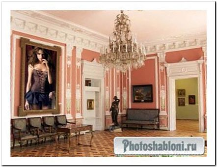 Рамка для фото - Картина в галерее