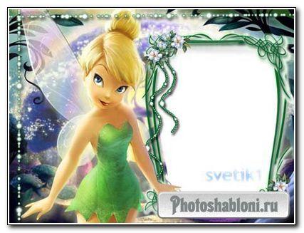 Рамка для фотошопа - фея