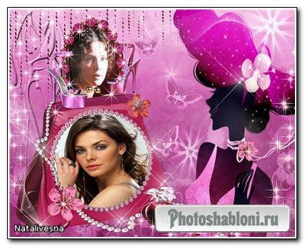 Рамка для Photoshop – Мисс Совершенство