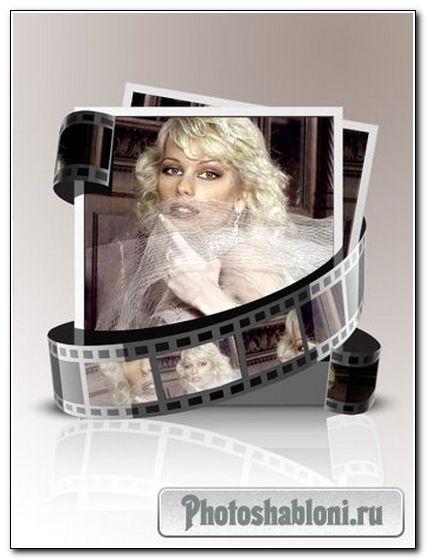Рамка для фото - Женщина в кадре