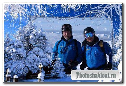 Снежный пейзаж 2.