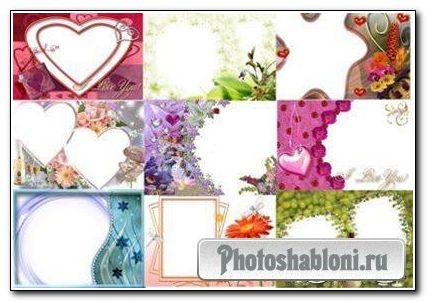 Рамки для фото «На разный случай»