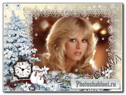 "Рамочка для фотошоп ""Новогодняя-1"""