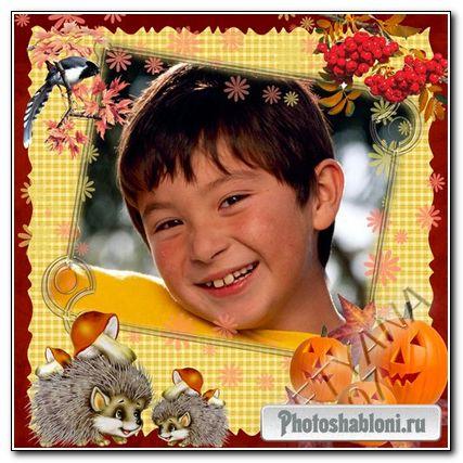 Рамочка для фотошоп - Хеллоуин-3
