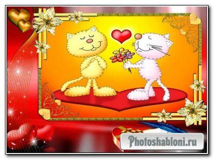 Рамочка на День Святого Валентина