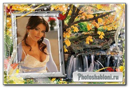 Рамочки для оформления фото -Осенняя природа