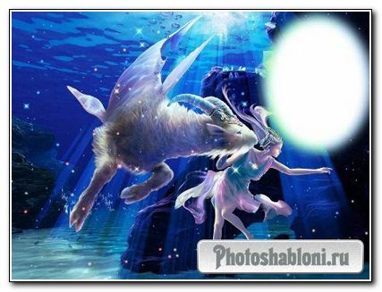 Рамка photoshop зодиак – Козерог
