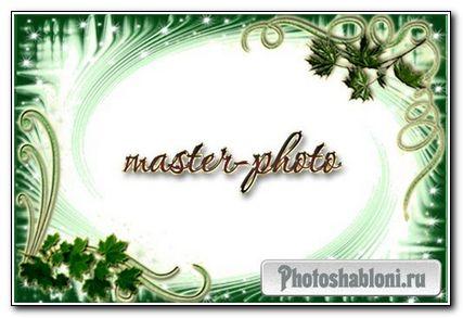 Рамка для фотошопа Романтика №1