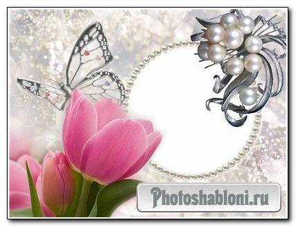 Скачать бесплатно Романтические рамки для фото - 1