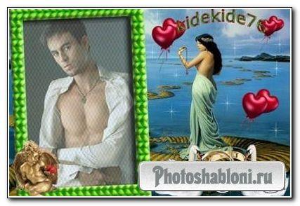 Рамка для фотошопа - Моя любовь