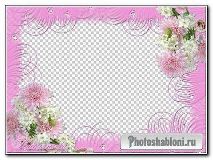 Рамка для фото Хризантемы