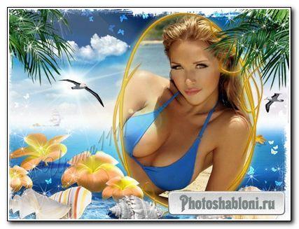 Рамка для Photoshop - Морская