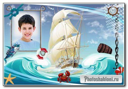 Pамка для фото - Морская