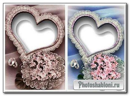 8 Свадебных рамок для Фотошопа
