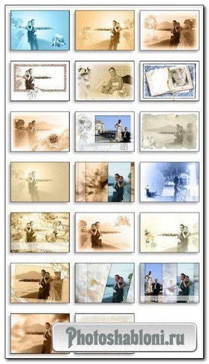 Креативный свадебный альбом для Adobe Photoshop (Часть 3)