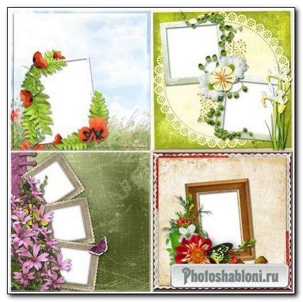 Рамки для фотошоп - Лето