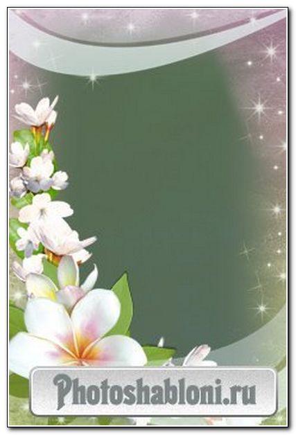 """Рамочка """"Весенний первоцвет"""""""